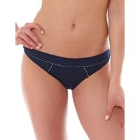 Huit Absolutely Chic Low Waisted Brief - Marine