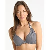 Eda Swimwear Hampton Padded Underwire Retro Halter with Masai Slider