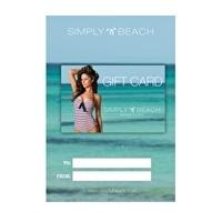 The Simply Group Simply Beach Gift Card £25