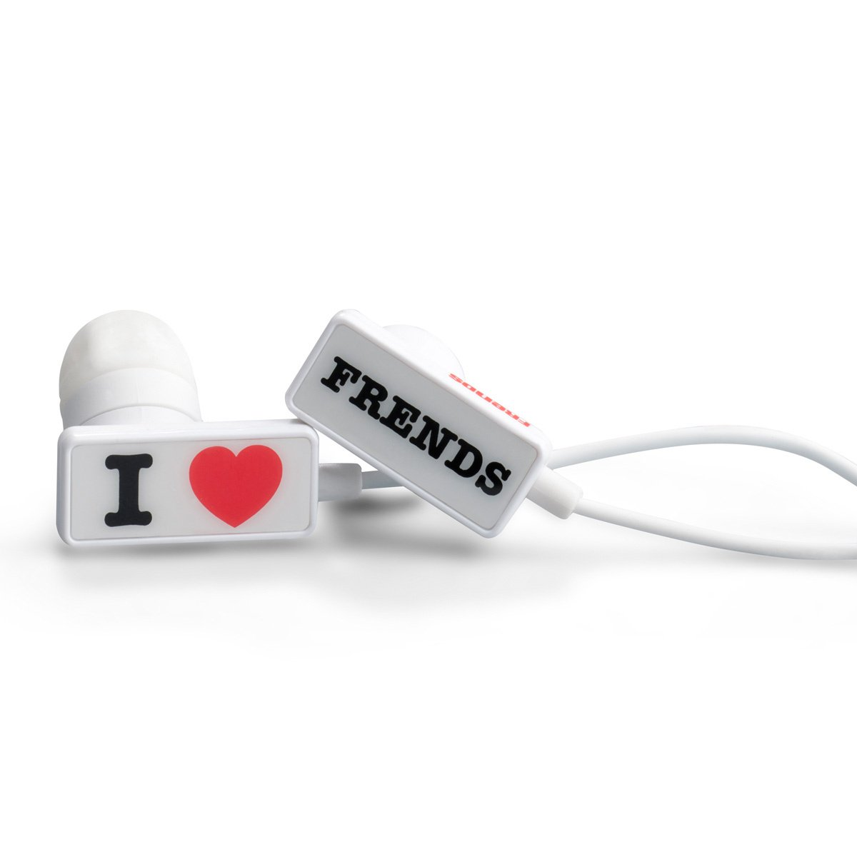 Frends Frends Headphones - Frends The Clip Headphones - I Love Frends