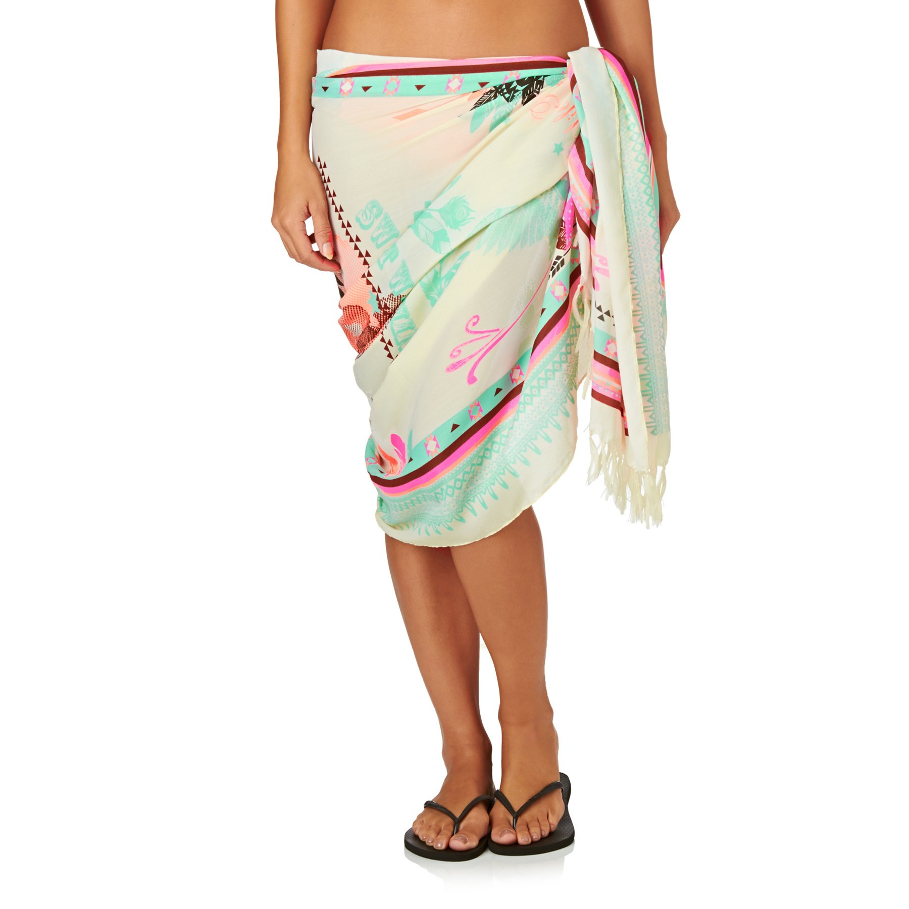 Hipanema Women's Hipanema Sarongs - Hipanema Rodeo Sarong - Beige