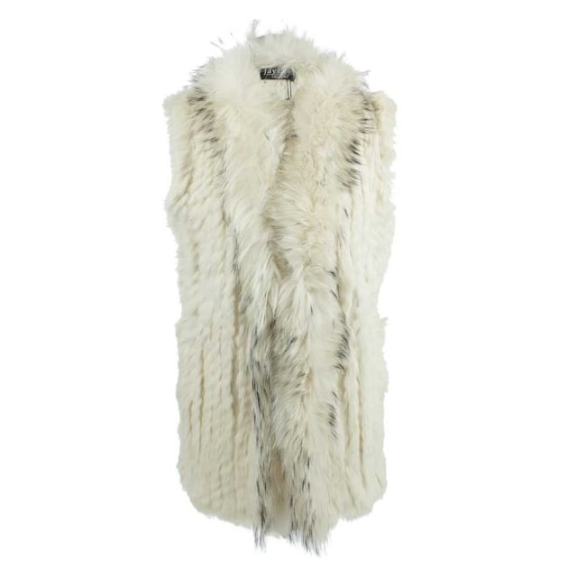 JayLey Kim 1 Cream Fur Gilet