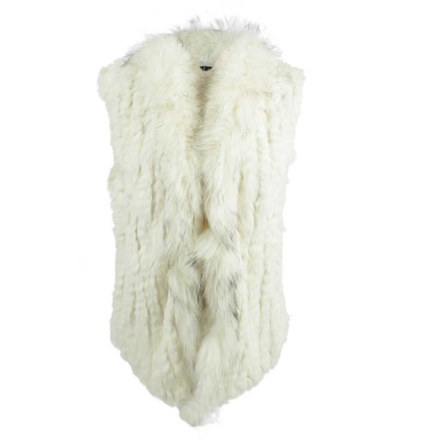 JayLey Kim 3 Cream Fur Gilet