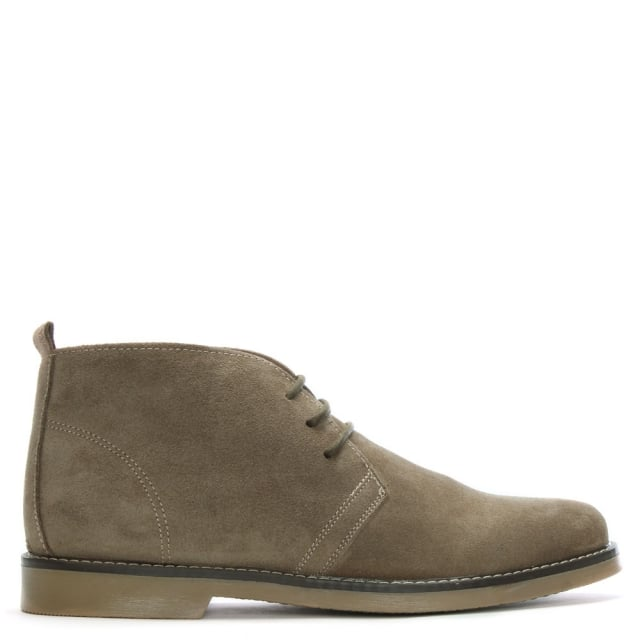 Roman Rock Rocky 102 Taupe Suede Desert Boot