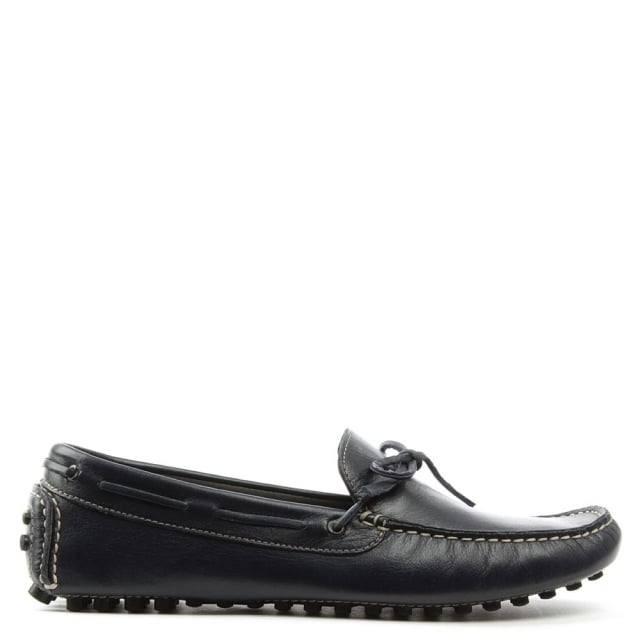 Roman Rock Rocky 104 Navy Leather Driving Moccasin