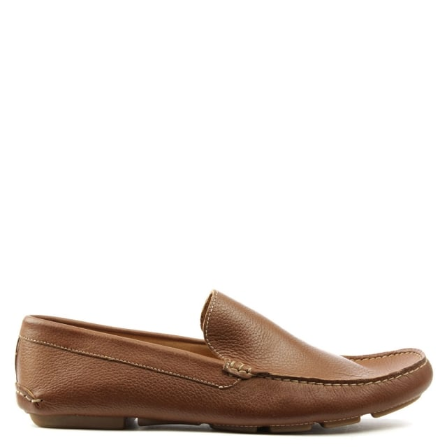 Roman Rock Rocky 106 Taupe Soft Leather Loafer